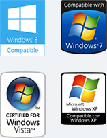 Windows 8, 7, Vista, XP