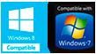 Windows 8, 7 compatible